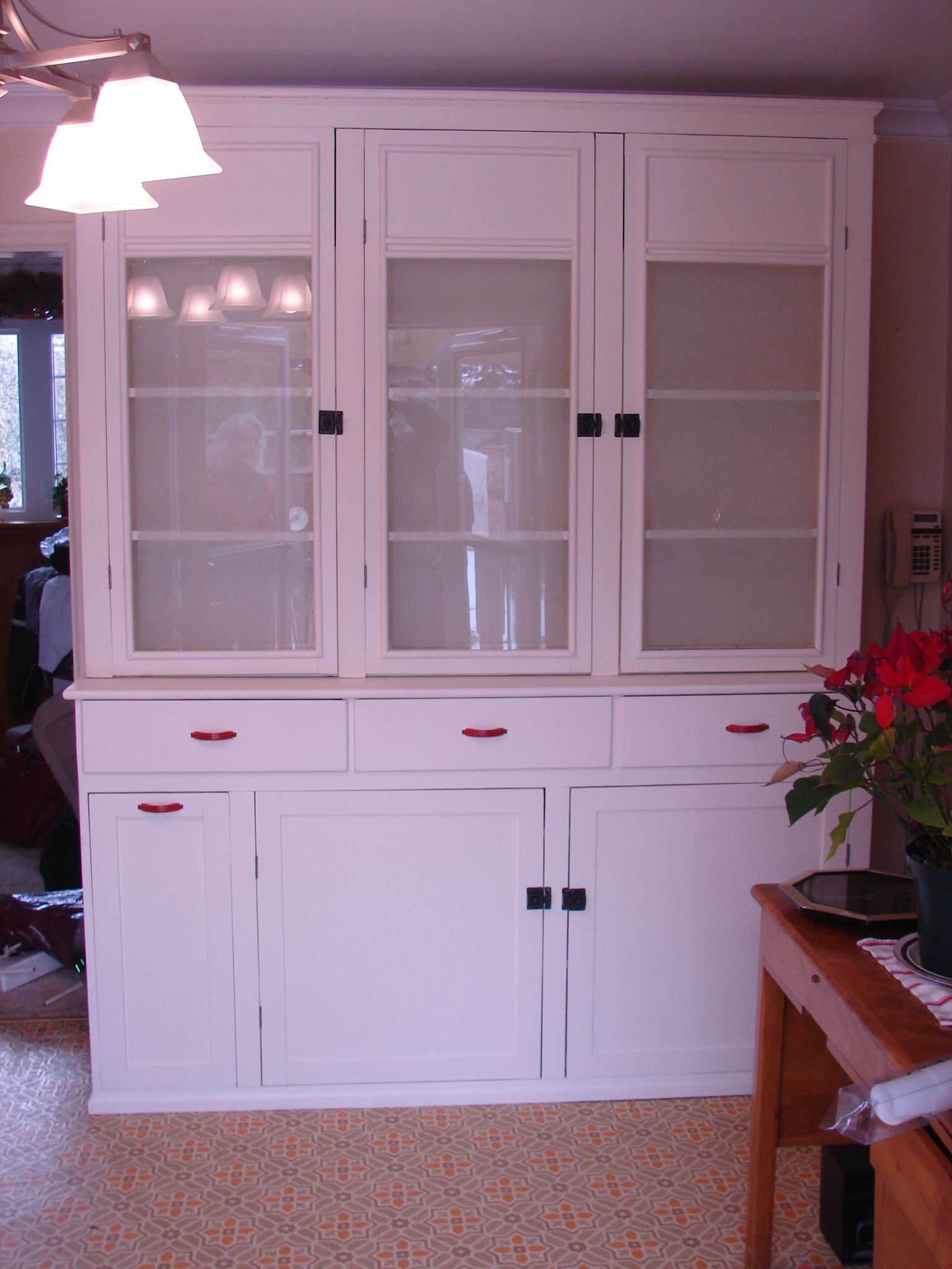 Painted 1940 39 s kitchen cabinet gentle hands restoration for 1940s kitchen cabinets