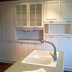 Bleached Oak Kitchen After