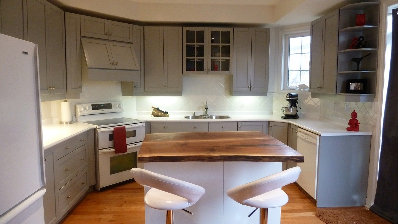 In home services by back to life furniture gentle for Kitchen cabinet carcass