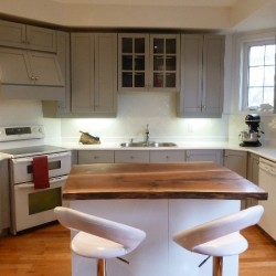 Kitchen Cabinet Carcass Painting