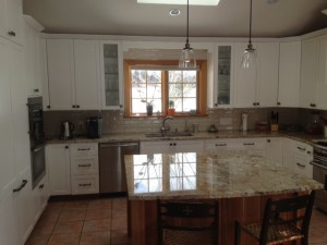 White Painted Kitchen - Pettis