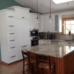 Pettis white painted kitchen 2