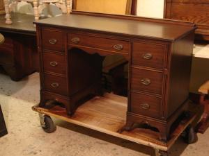 mahogany desk after